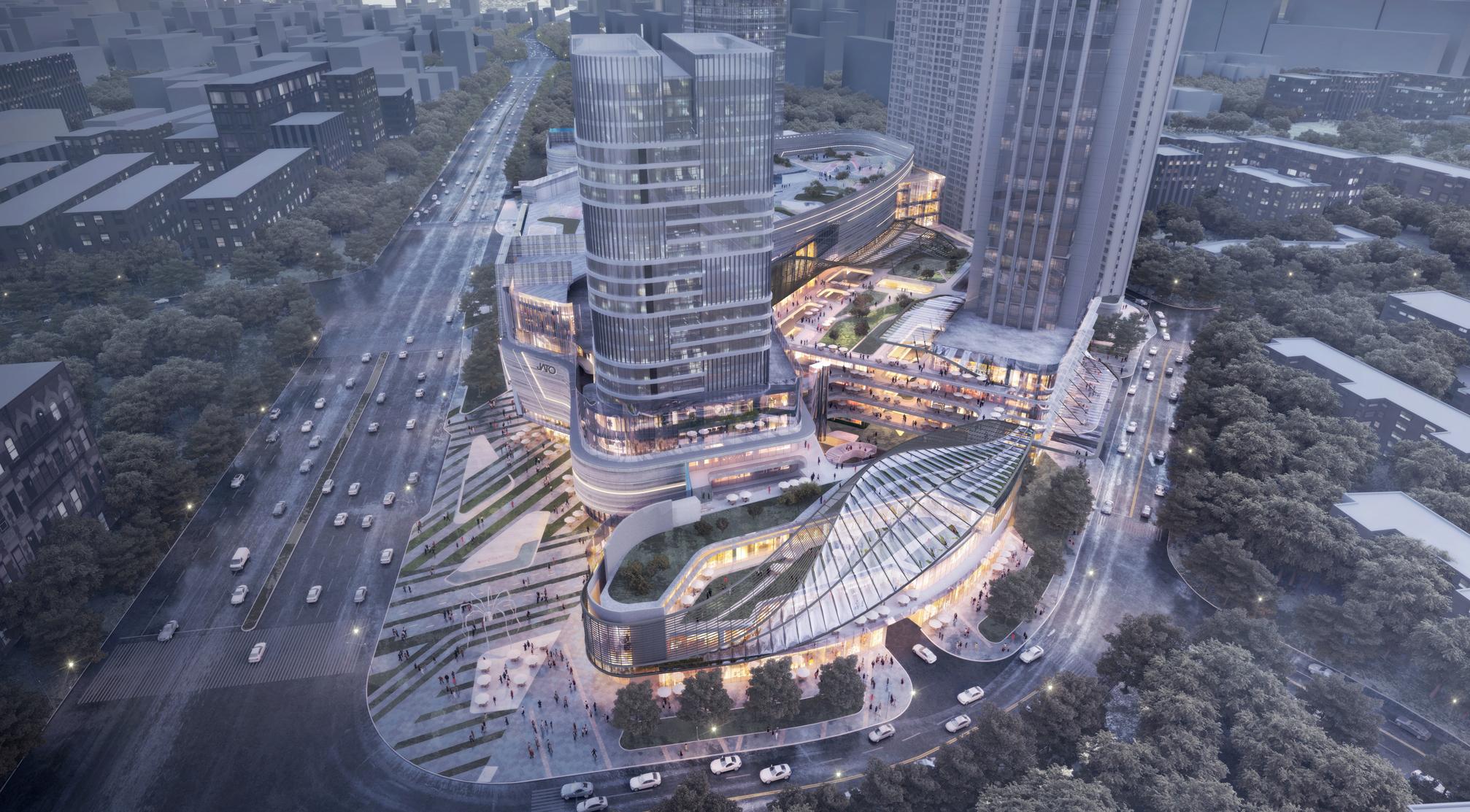 JATO商业综合体设计项目-南昌正盛太古港