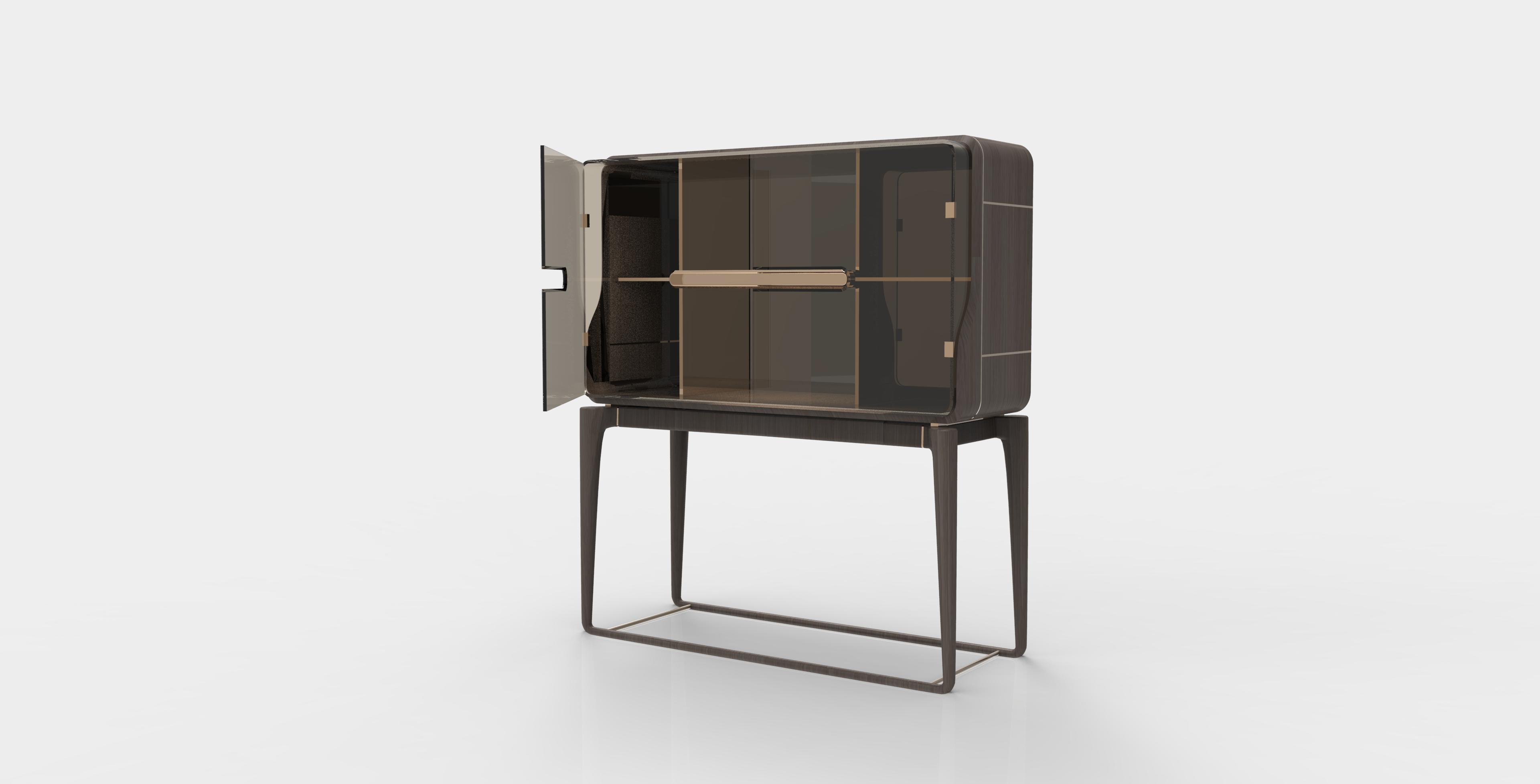 """J&A杰恩设计家具设计Vine""""蔓""""系列餐边柜"""