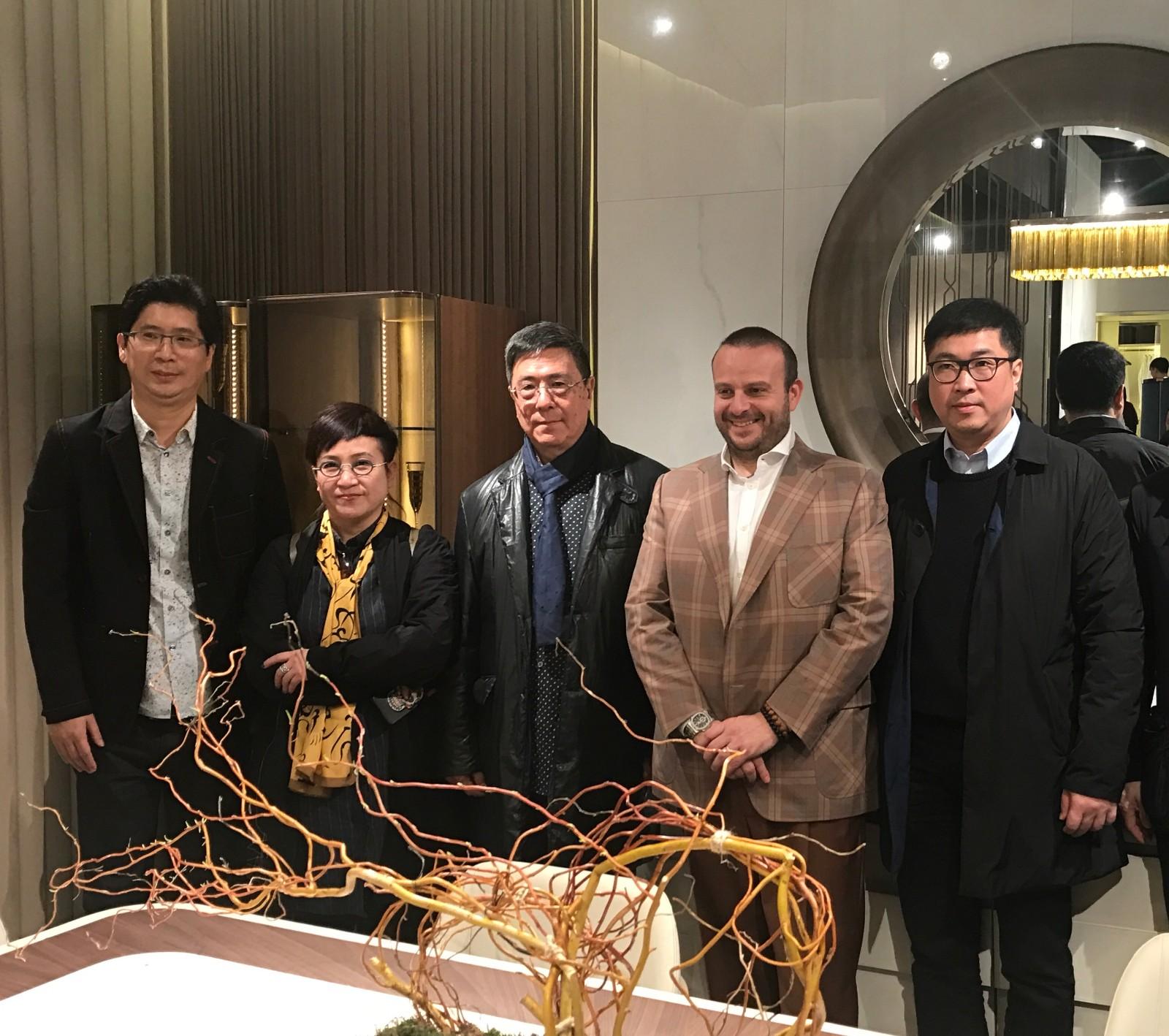 2017年 J&A杰恩设计 x TURRI 首次合作