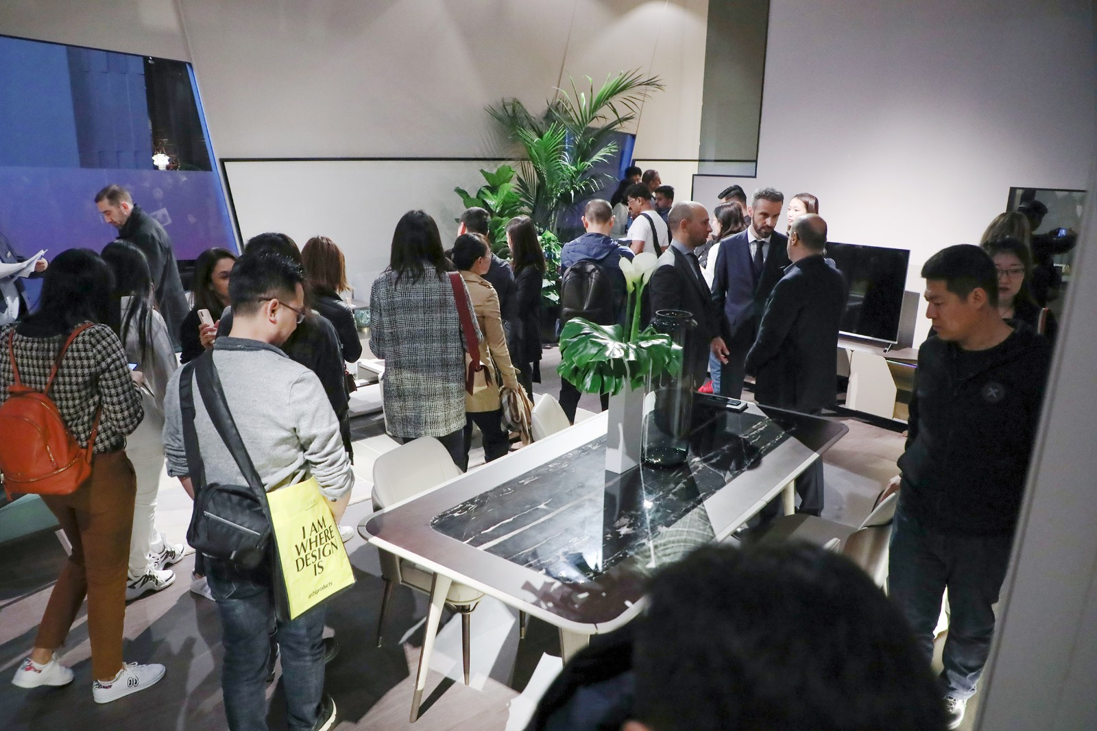 """J&A杰恩设计与意大利顶级家具品牌TURRI共同打造的全新系列家具Vine""""蔓""""发布现场"""